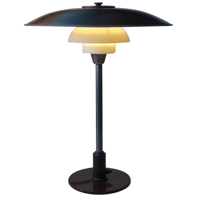 Rare 1940s PH 3,5/2,5 Table Lamp by Poul Henningsen for Louis Poulsen, Denmark