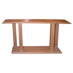 Jacques Quinet Console from Hotel Royal-Evian