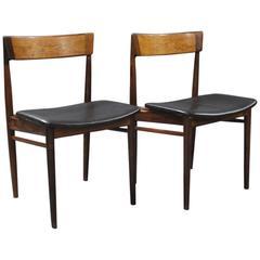 Pair of Chairs, Model 39, by Henry Rosengren Hansen, 1960s