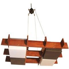 Ceiling Lamp Design Esperia Angelo Brotto, 1960