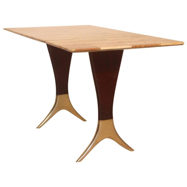 Elegant Coffee Table, Guglielmo Ulrich, 1950s