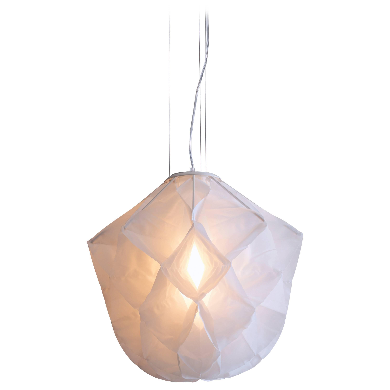 Studio Drift Fontana Arte Albedo Suspension Lamp in Laser Cut Fabric, 2013