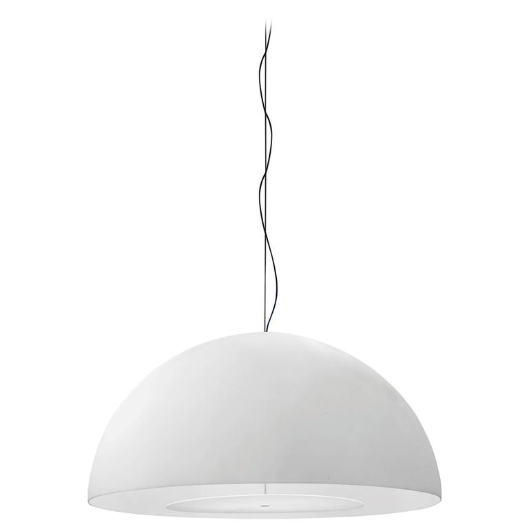 Charles Williams Fontana Arte Avico Suspension Lamp in Polyethylene, 2006 For Sale