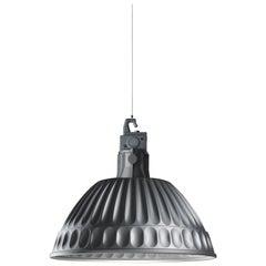 Fontana Arte Pudding Aluminium Suspension Lamp, Designed 1995