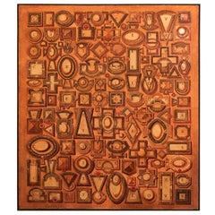 Painting, Weaect X.M 1990 Signed Valdimir Shelest