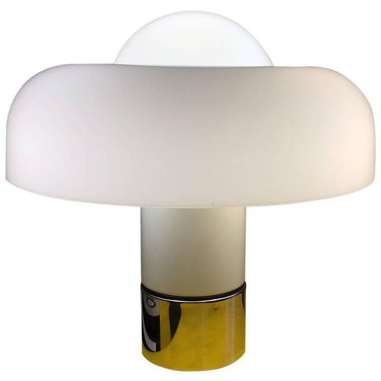 Luigi Massoia Brumby Table Lamp Harvey Guzzini 1970 For