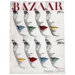 Herbert Bayer's 1940 Harper's Bazaar Cover