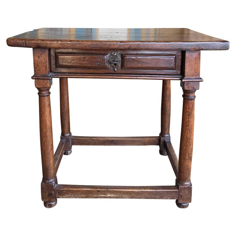 antique spanish end table circa 1820 for sale - Antique End Tables For Sale