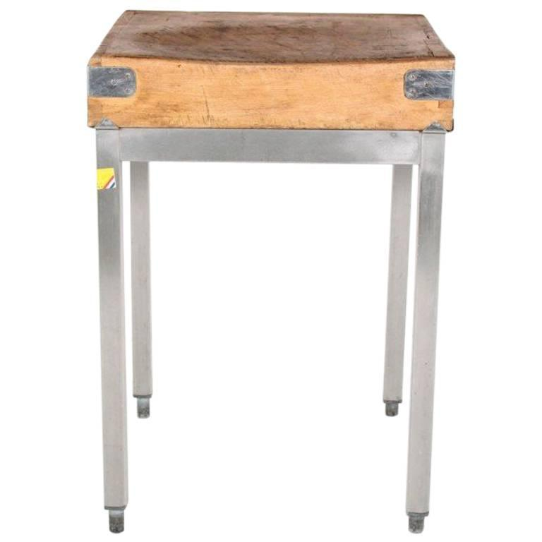 antique french butcher block circa 1910 for sale at 1stdibs