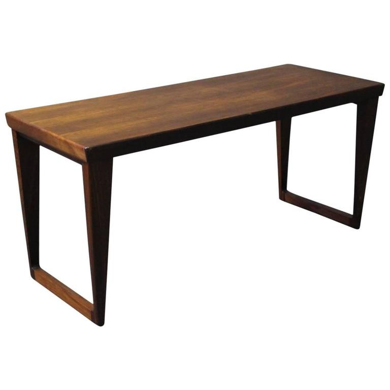 Small Coffee Or Side Table In Rosewood Of Danish Design 1960s For Sale At 1stdibs
