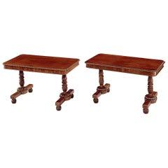 19th Century Mahogany Gillows Writing Tables