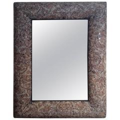 Mosaic Glass Frame Mirror