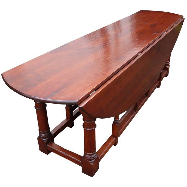 Large 18th Century Style Irish Mahogany Wakes Table For Sale At 1stdibs