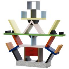 Early Prototype of Iconic Carlton Room Divider Created by Ettore Sottsass