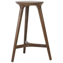 Kingstown Counter Stool in Walnut by Studio Dunn