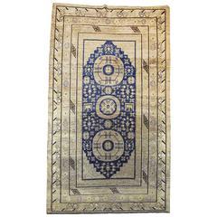 Late 19th Century Turkestan Khotan Rug