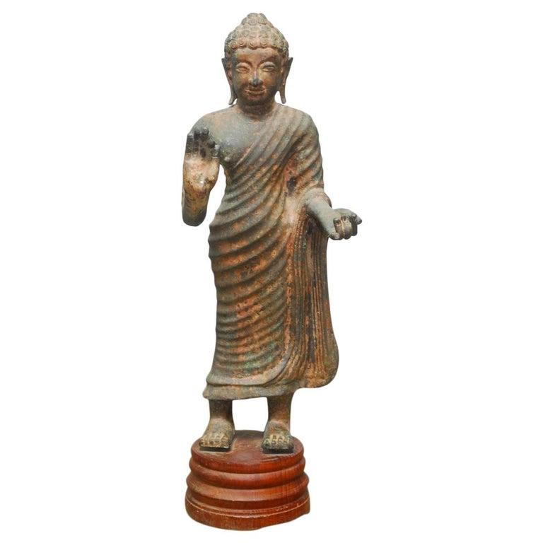 Standing Buddha, 19th century, offered by Erin Lane Estate