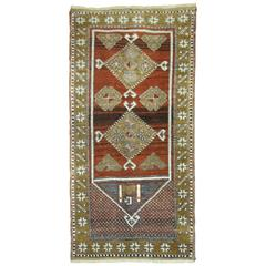 Turkish Anatolian Throw Rug