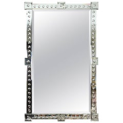 Impressive Scaled Mirror with Mirrored Frame