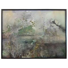 "Carl W. Burger Painting ""Califon Love"""