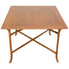 T.H. Robsjohn-Gibbings Beautiful Walnut Occasional Table