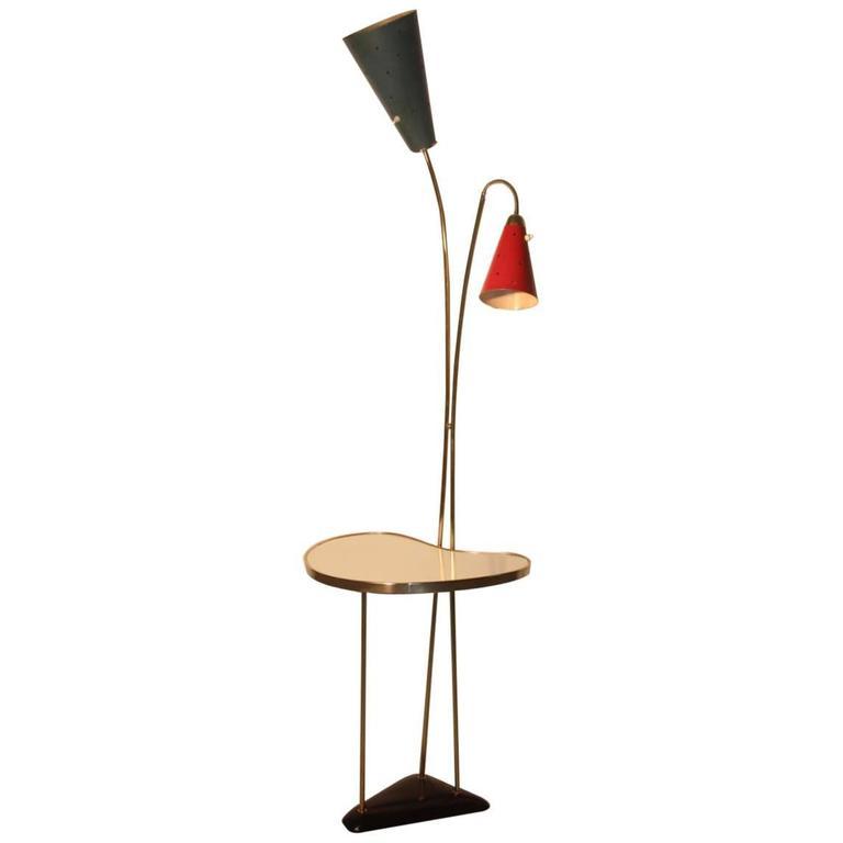 Floor Lamp Mid-Century Italian Design
