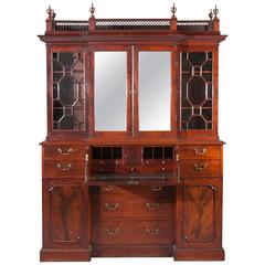 Small George III Breakfront Bookcase