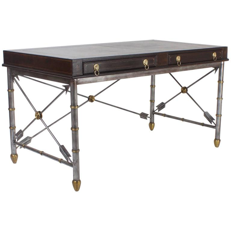 Handsome Neoclassical Style Desk or Writing Table 1