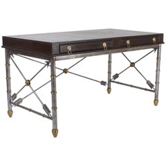 Handsome Neoclassical Style Desk or Writing Table