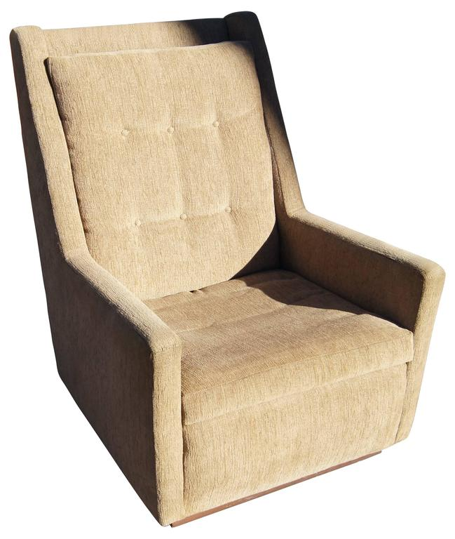 High-Back Lounge Chair by Harvey Probber