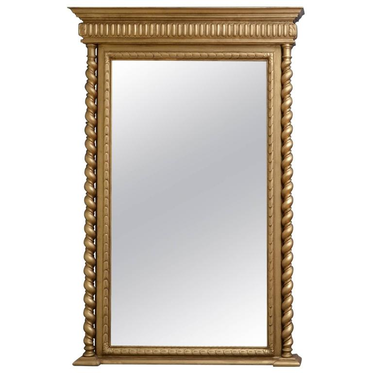 Victorian giltwood pier mirror gilt mirror for sale at for Mirrors for sale