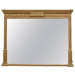 Fine Regency Giltwood Mirror