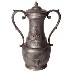 Pewter Fountain with Lid