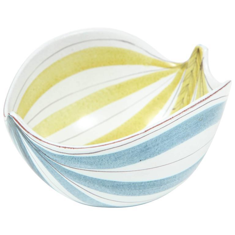 Ceramic Bowl, Stig Lindberg, Sweden, C 1950 1