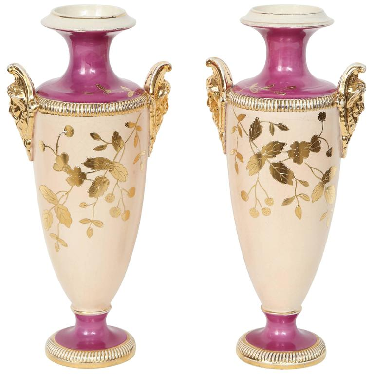 Art Deco Paris Porcelain Vases