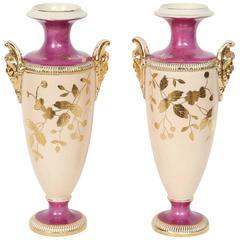 Art Deco Paris Porcelain Vases