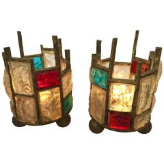 Pair of Lamps by Poliarte, Italy, 1960s