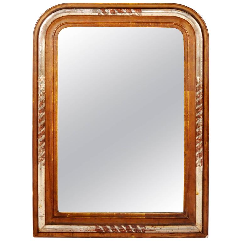 Louis Philippe Style Gilt Mirror