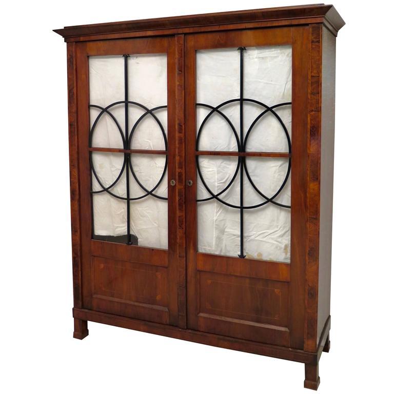 Wonderful Biedermeier Bookcase, 1830