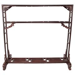 Chinese Silk Rack