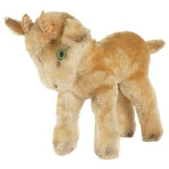 Steiff Blonde Mohair Ziege Goat from the Estate of Bunny Mellon