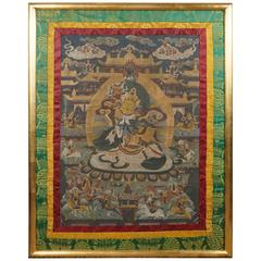 Early 20th Century Tibetan Thangka