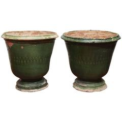 Pair of French Pots from Uzes