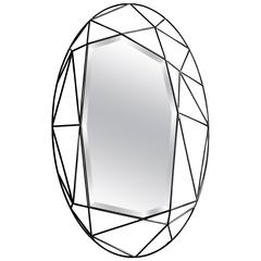Oval Maryline Mirror by Sam Baron