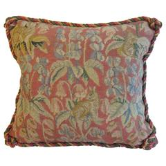 Vintage Needlepoint Pillow by Mary Jane McCarty