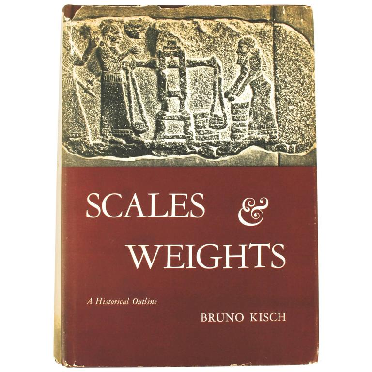 Scales & Weights, First Edition, Signed