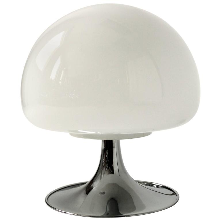mushroom glass table lamp ikea shades uk lamps target