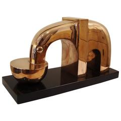 Bronze Sculpture of an Elephant, by Franco Adami
