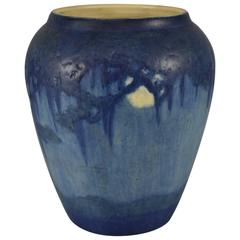 Newcomb College Vase Signed by Artist Henrietta Bailey