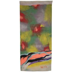 Modern Tapestry Wall Hanging by Robert Freimark